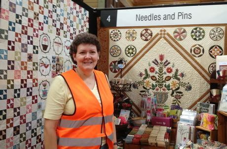 Needles And Pins Quilt Shop by The House On The Side Of The Hill Just Catching Up