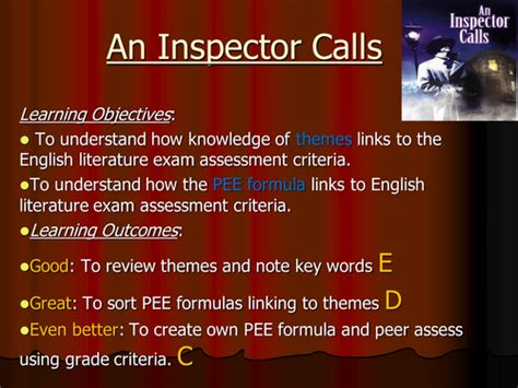 theme of conflict in an inspector calls jimjo1962 s shop teaching resources tes