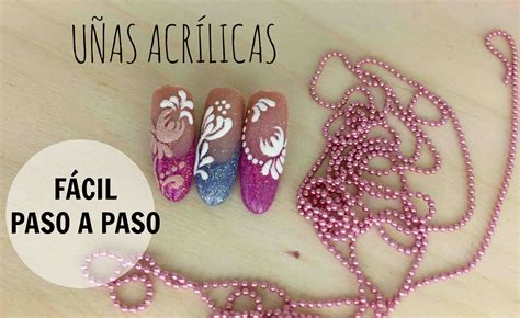 imagenes de uñas de acrilico paso a paso u 241 as acr 237 licas ovaladas con efecto az 250 car coralsanails 174