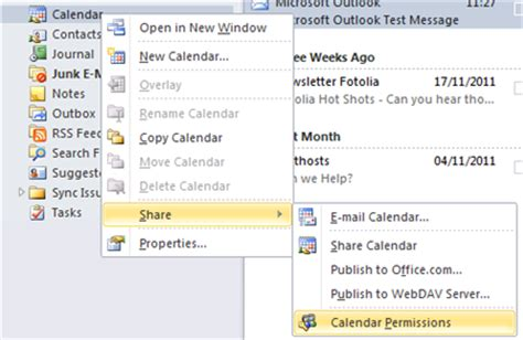 2 Calendars In Outlook 2010 How Do I A Calendar Using Outlook 2010 Email