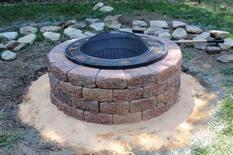 how to make a brick fire pit in your backyard how to make a brick fire pit fire pit design ideas