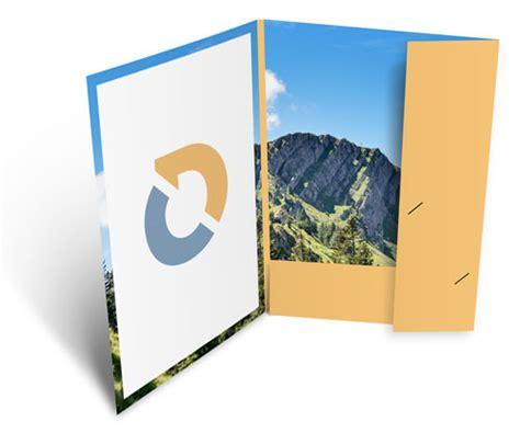 Drucken Online A4 by Imagemappen Und Pr 228 Sentationsmappen Mit Klappen Drucken