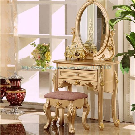 Gold Bedroom Vanity buy wholesale small vanity table from china small