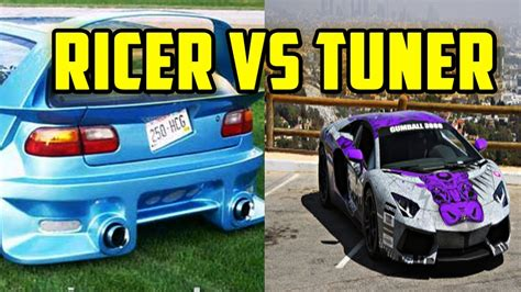 ricer vs tuner ricer vs tuner
