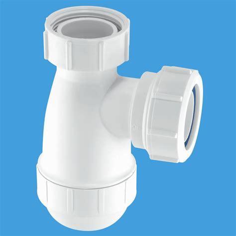 McAlpine 1.1 2   40mm Stubby Kitchen Sink Bottle Trap G10