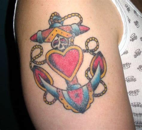 half heart tattoo anchor tattoos designs ideas page 2