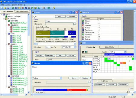 layout editor resolution fibex xml format and autosar development edn