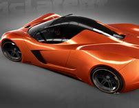 mclaren lm5 concept automotive illustrations on behance