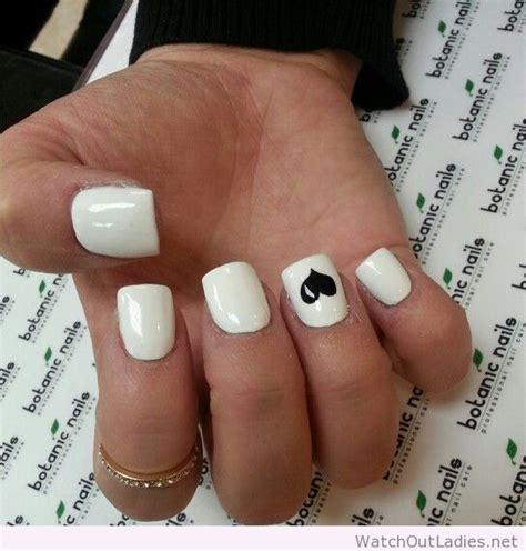 All Nail by Botanic Nails All White Black Out