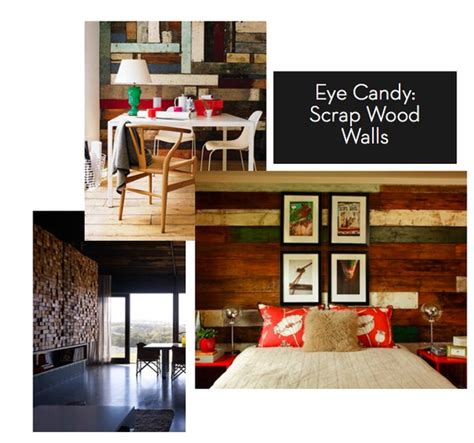 eye candy scrap wood walls curbly diy design decor