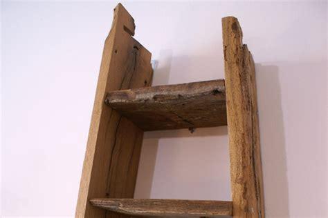 mensola di legno mensola in legno di recupero xn men008 mobili su