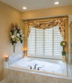 Bathroom Window Curtain Ideas Curtain Ideas Bathroom Window Curtains With Attached Valance