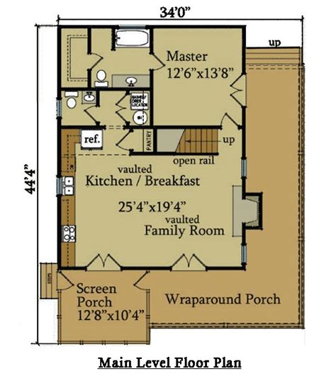small cabin floor plans view source more log cabin ii 2 bedroom cabin plan with covered porch wraparound porch