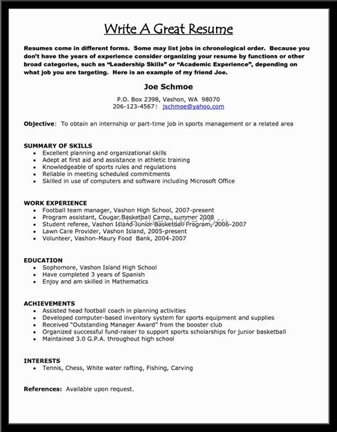 How O Make A Resume by Resume Template Templet Word Templates Free Resumes In