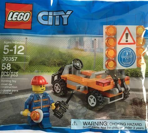 Lego Polibag 40054 Summer 30357 1 road worker brickset lego set guide and database