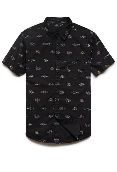 Kemeja Grid Top sea print shirt 21 summerforever 21men mall rat sea summer