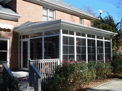 how much does a patio enclosure cost how much does it cost to build a sunroom this sunroom has a shed roof which is connected at the