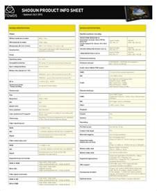 product sheet template 10 product sheet templates free sle exle format