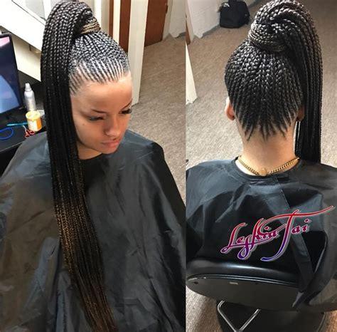 braid hairstyles black women on cap feed in braids by leshia follow our pinterest hair nails