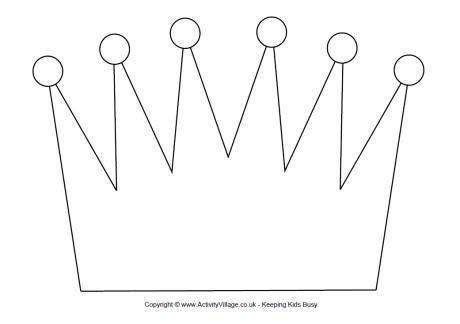 crown printable template crown printable template search results calendar 2015