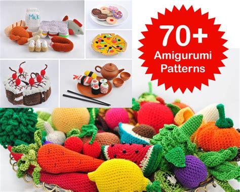 pattern amigurumi food amigurumi pattern 70 crochet play food patterns crochet