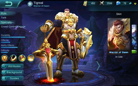 heres     fighters  mobile legends