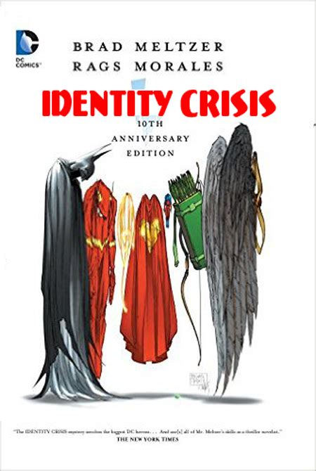 Comic Brad Meltzer Identity Crisis identity crisis artvoice