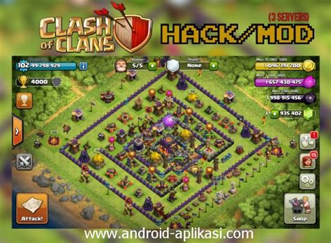 game coc mod oktober 2015 clash of clans mod fhx v6 private server indo 2015 info