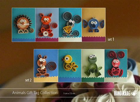 quilling animals tutorial quilling handmade catalogue the other design studio