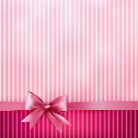 pink wallpaper next pink striped background with bow gallery yopriceville