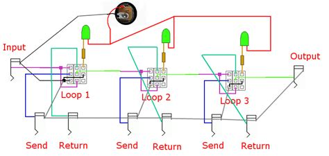 simple programmable effects loop schematic simple get