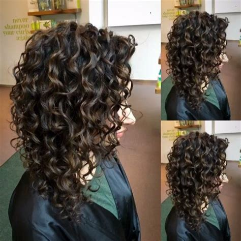 curly hairstyles devacurl before after correcting over processed color