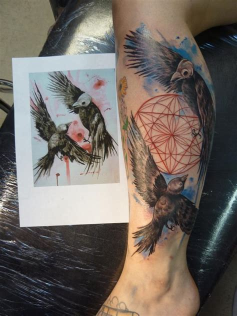 tattoo shops in fort myers the birdfight by mully tattoonow