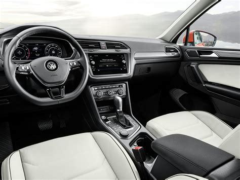 volkswagen tiguan 2018 interior new 2018 volkswagen tiguan price photos reviews