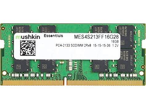 Memory Sodimm Vgen Ddr4 16gb Pc 17000 Pc 19200 mushkin essentials series ddr4 laptop dram 16gb memory 2rx8 single module sodimm 2133mhz