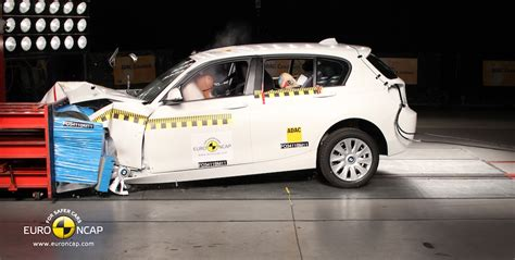 Bmw 1 Series Compression Test by New Bmw 1 Series Receives 5 Stars In Euro Ncap Crash Test