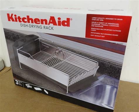 new kitchenaid dish drying rack 3 black and