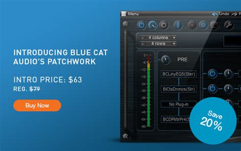 Blue Cat Audio Patchwork - cakewalk news