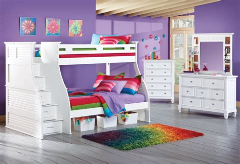 bunk beds rooms to go twin over full bunk beds