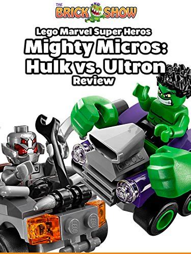 Lego Marvel 76066 Mighty Micros Vs Ultron Heroes lego marvel heroes mighty micros vs ultron review 76066 on prime