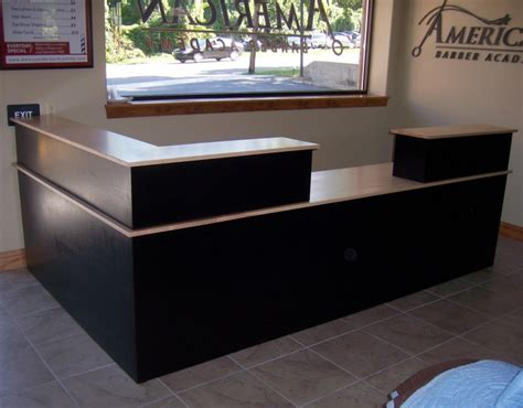 custom reception desk custom maple reception desk country furniture