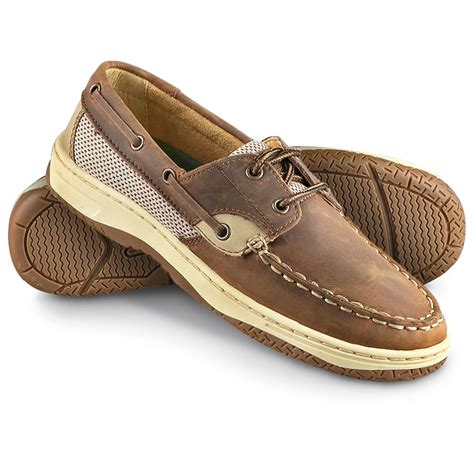women s duck head 174 regatta boat shoes tan 187640 boat - Duck Boat Shoes