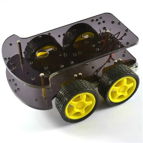 4wd smart car 4wd smart car chassis 4 wheel drive level k 002 for
