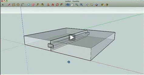 google sketchup tutorial woodworking learn to navigate sketchup woodworking models with free