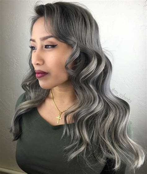 pics of dark blonde silver hair the best winter hair colors you ll be dying for in 2016