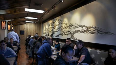 the luggage room pizzeria checking out the quot new quot sushi roku the luggage room pizzeria opens the un curry table pops up
