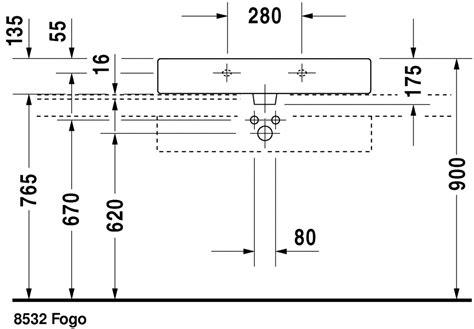lade da terra design outlet duravit vero wastafels wastafel geslepen 045480 by duravit
