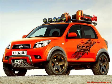 jeep daihatsu modifikasi daihatsu terios carstren