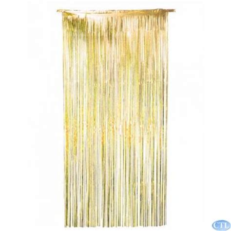 gold foil door curtain 36x72 inch gold foil door curtain