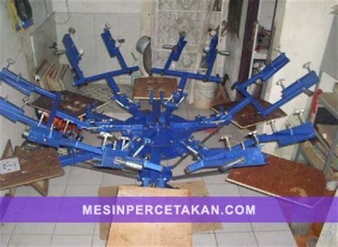 mesin rotary sablon second mesin cetak